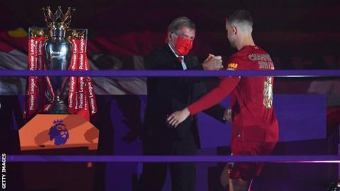 Liverpool's Jordan Henderson named Football Writers' Association Men's Footballer of the Year