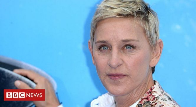 Ellen DeGeneres apologises to staff over workplace 'issues'