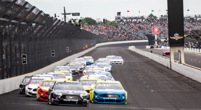 Historic NASCAR-IndyCar doubleheader highlights weekend sports schedule