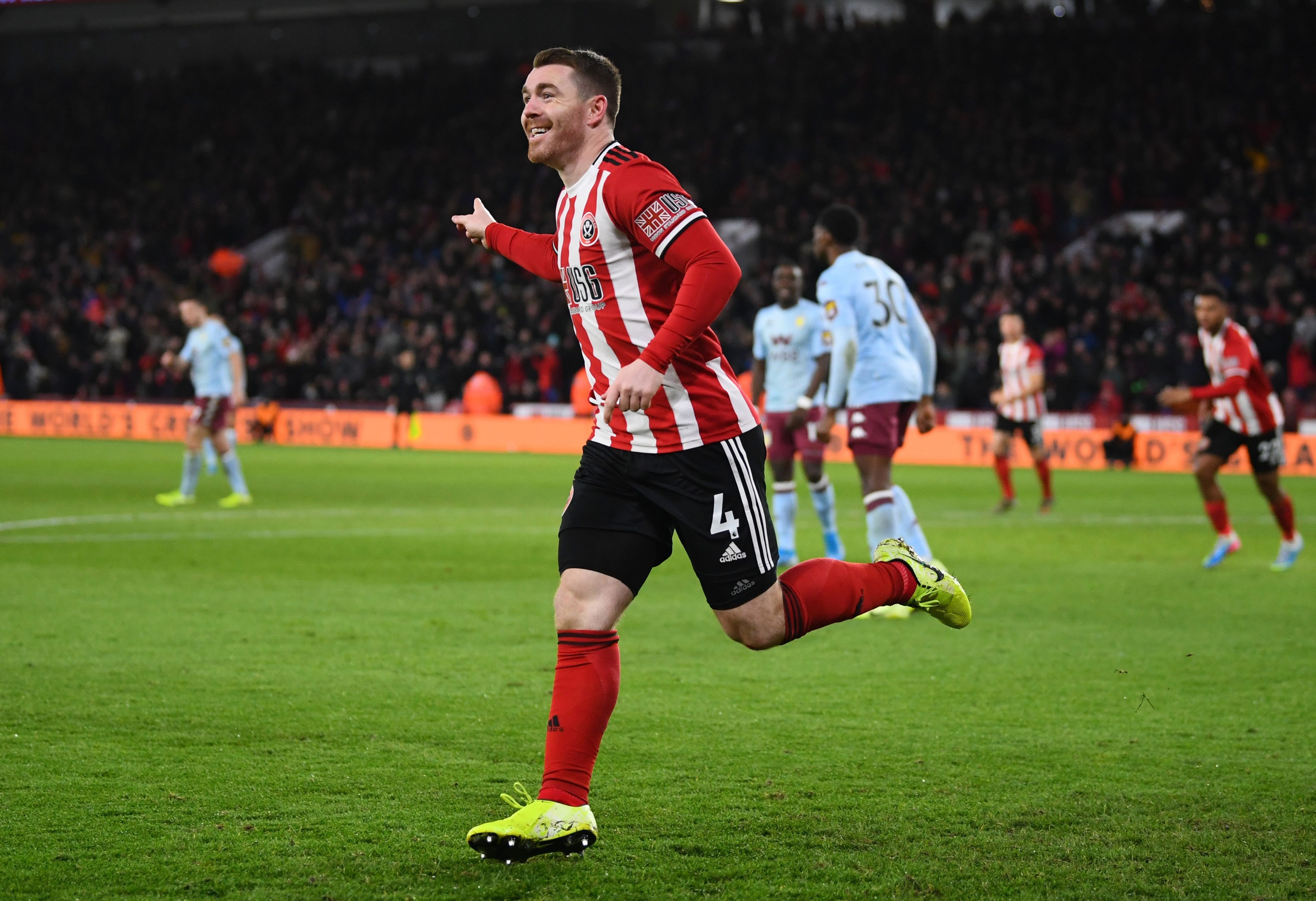 John Fleck fired Sheffield United to glory against Burnley earlier this season