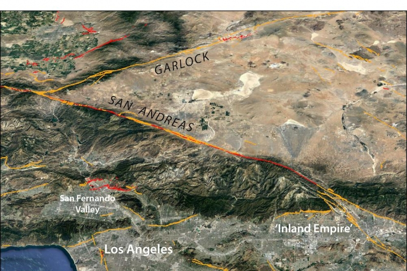 Ridgecrest temblors increase chance of San Andreas earthquake, new study says