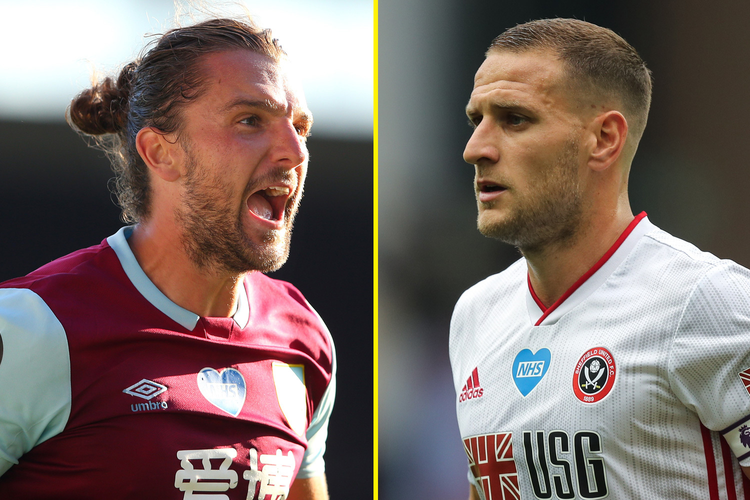 Burnley take on Sheffield United today