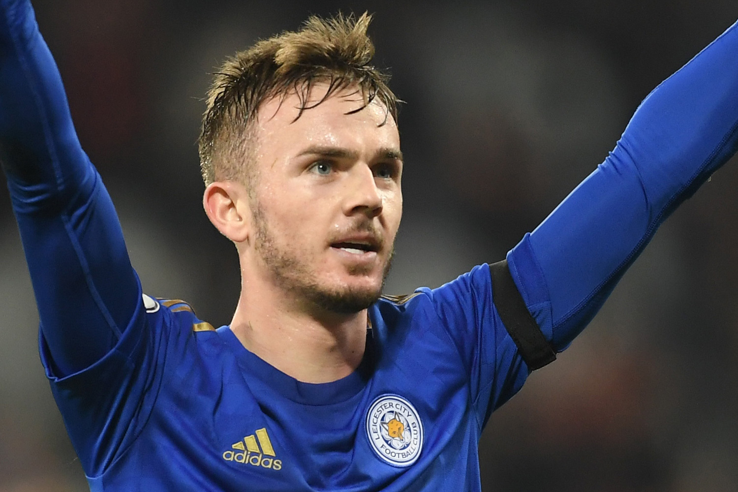 James Maddison missed Leicester's match with Crystal Palace through injury