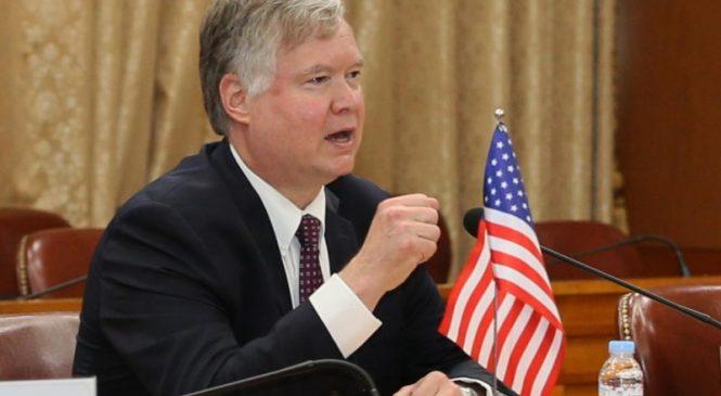 Top envoy says U.S. ready to resume talks with North Korea