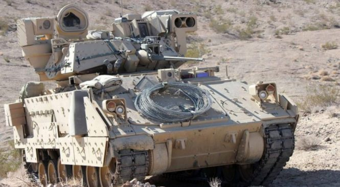U.S. Army requests design proposals to replace M-2 Bradley tank
