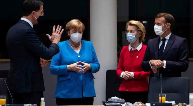 No deal in sight; EU leaders haggle over budget, virus fund