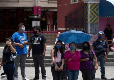 Mexico records near-record daily deaths, coronavirus cases