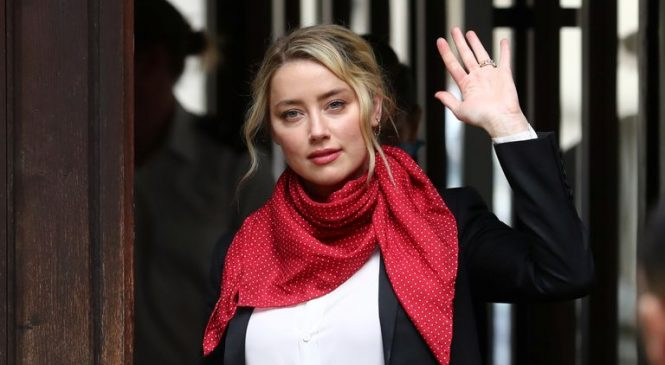 Video emerges of Amber Heard's sister 'after attack by actress'