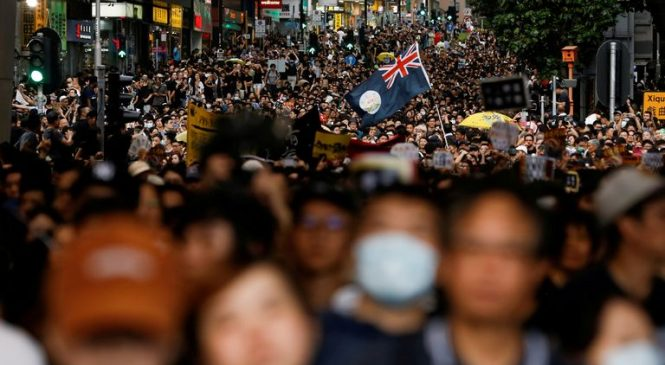 Australia suspends Hong Kong extradition treaty and offers visa extensions