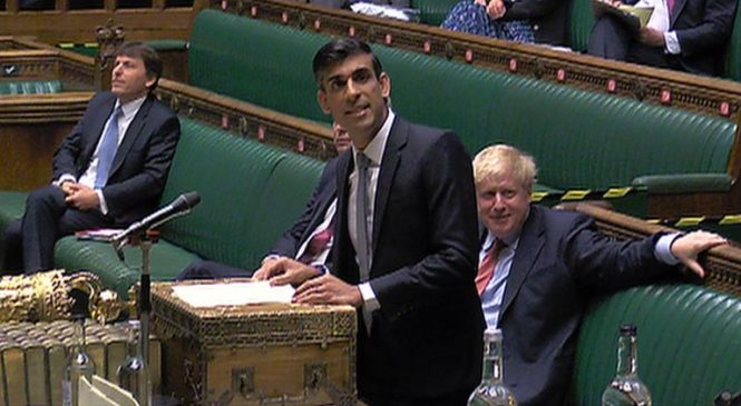 Key points as Sunak pledges £1k for each furloughed employee brought back to work