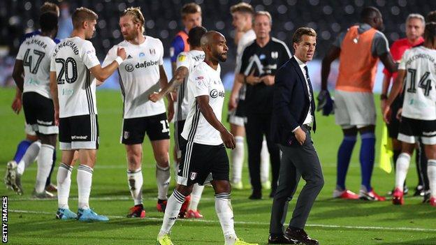 Fulham against Cardiff