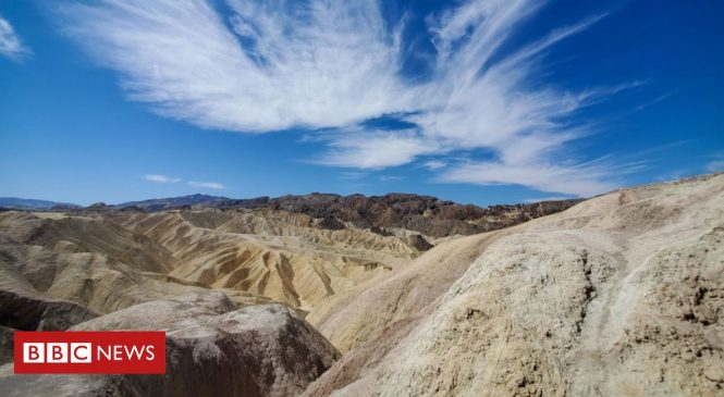 'Hottest temperature on Earth' as Death Valley, US hits 54.4C