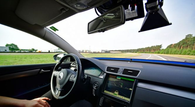 Hands-free driving on motorways possible within a year