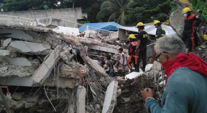 6.6-magnitude earthquake strikes Philippines; 1 dead