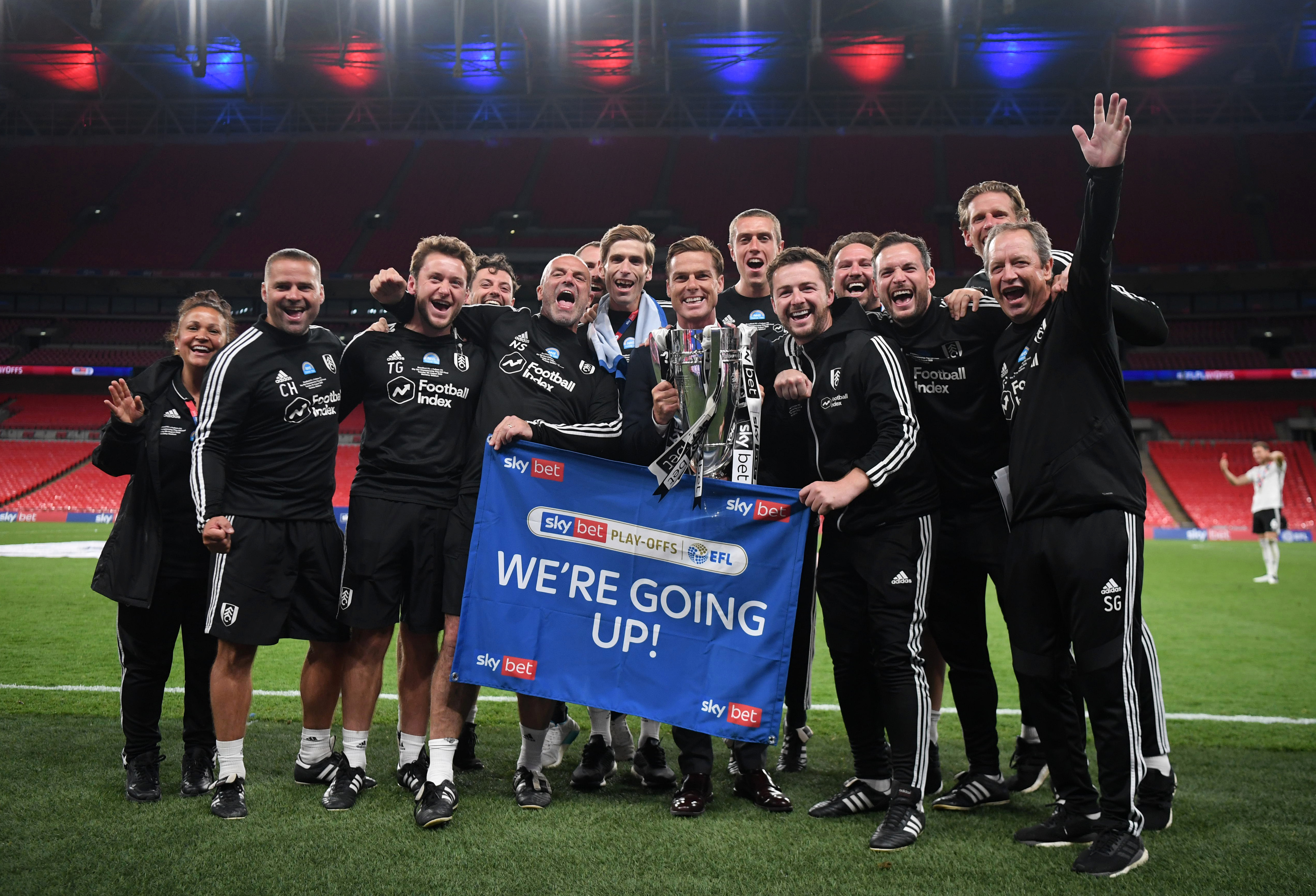 Scott Parker masterminded Fulham's promotion in his first full season in management