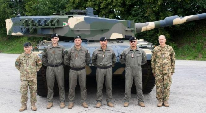 Hungary upgrades military with delivery of German tanks