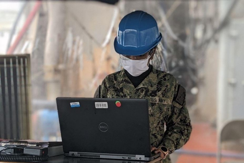 U.S. Navy develops software to track COVID-19 cases aboard ships