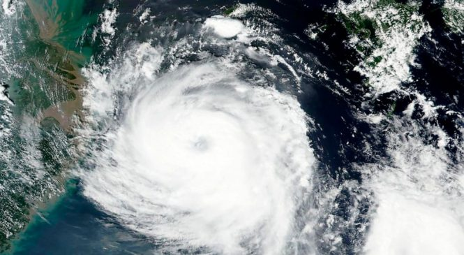 North, South Korea brace for strong typhoon, flights halted