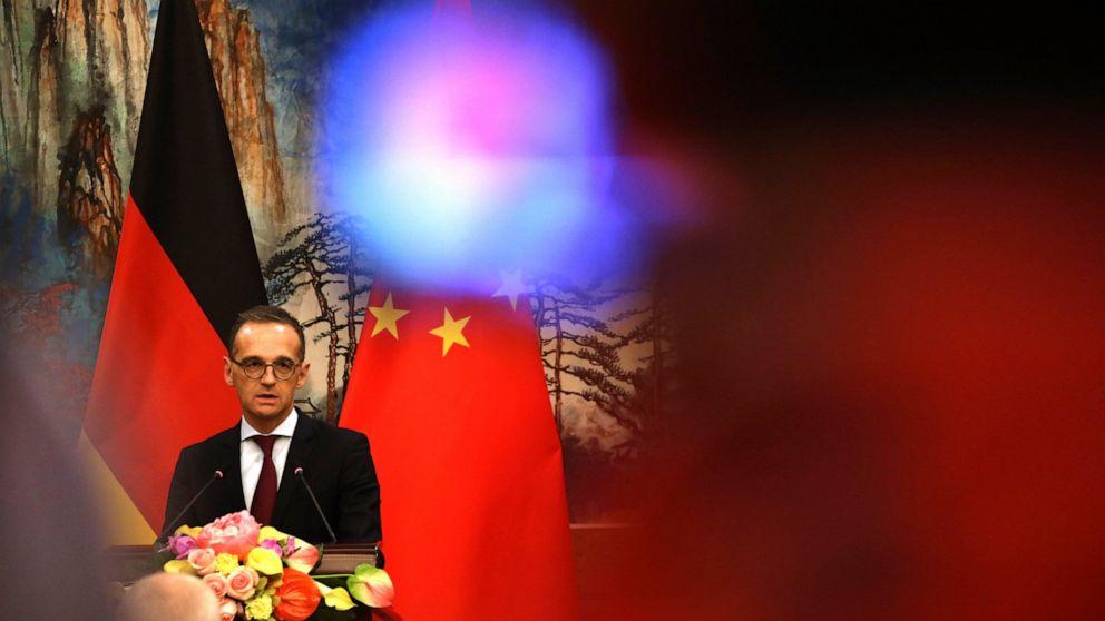 China condemns Germany's Hong Kong extradition suspension