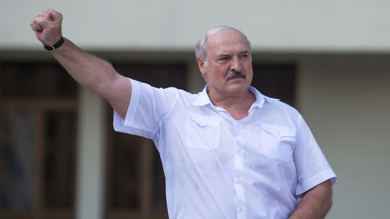 Belarus opposition leader willing to engage with political rival after disputed election