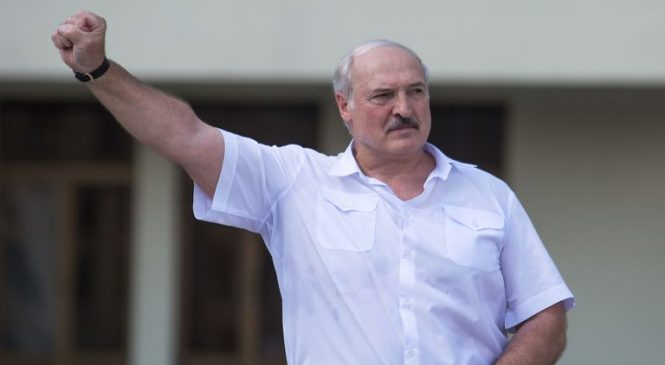 EU imposes sanctions on Belarus as Lukashenko orders police to clear the streets