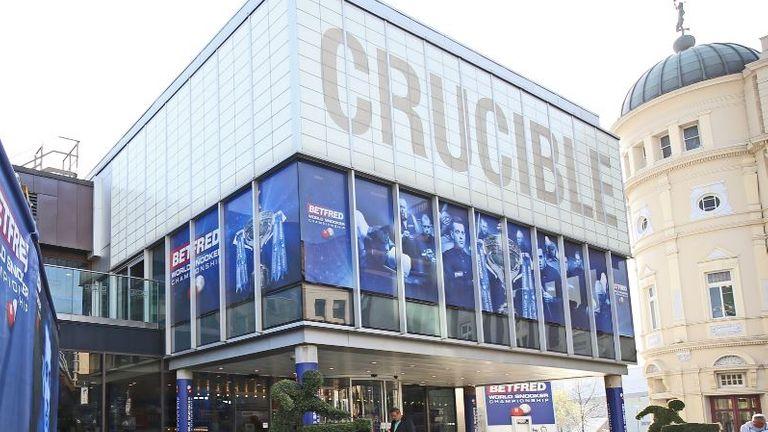 Crucible in Sheffield