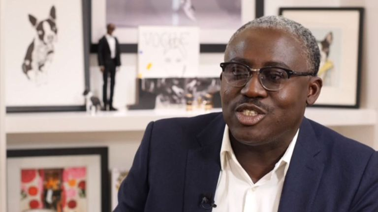 Mr Enninful says he has always pushed for diversity