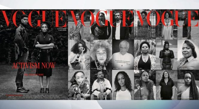 'Another black person': Vogue editor says racial profiling 'can happen any day'