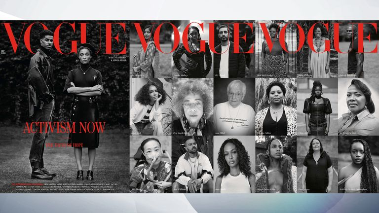 Vogue's September issue cover