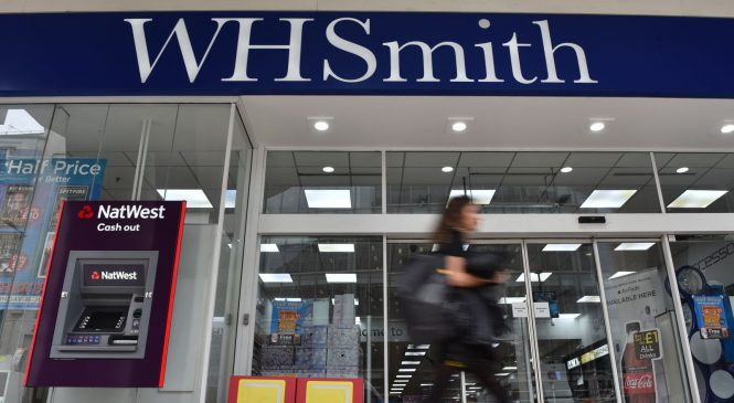 Up to 1,500 jobs to go at WH Smith over 'slow' lockdown recovery