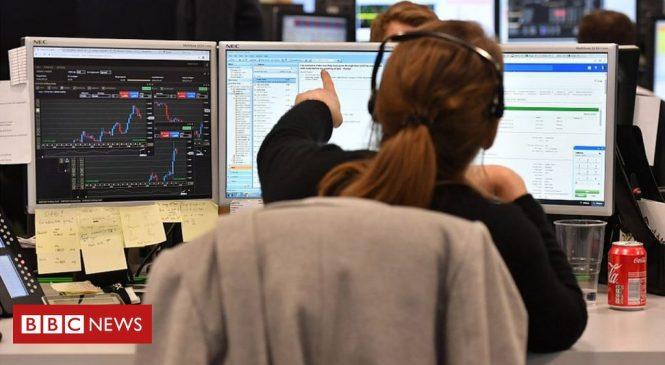Coronavirus: Lockdown fears send shares reeling