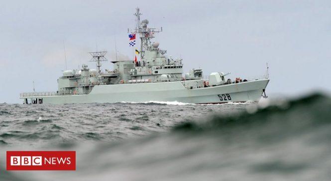 China holds military drill as US envoy visits Taiwan