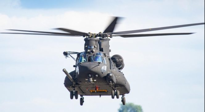 Boeing delivers first MH-47G Block II Chinook helicopter to Special Ops