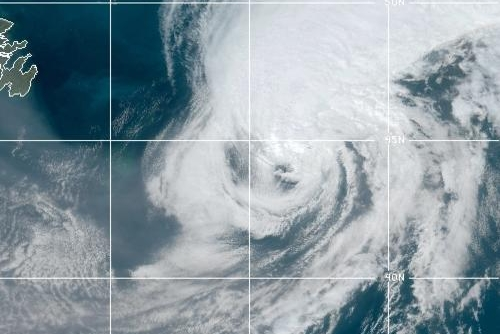 Paulette moves further into open Atlantic