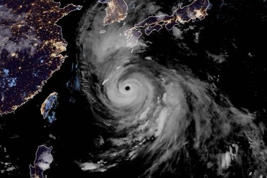 Powerful Typhoon Haishen bears down on southern Japan