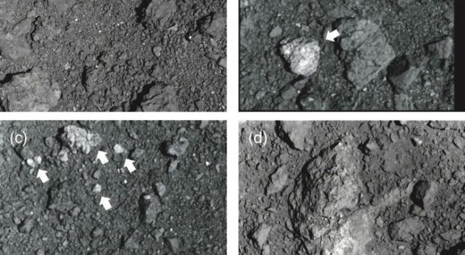 Ryugu's rubble suggests its short life has been rather turbulent