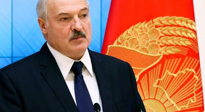 Belarus leader Lukashenko disparages protests as US plan