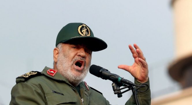 Iran vows 'hit' on all involved in US killing of top general