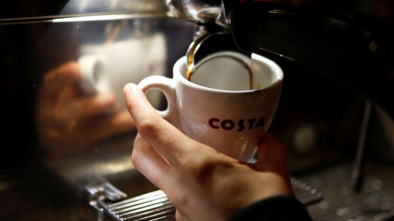 Whitbread says the coffee shop market in China is 'highly attractive'