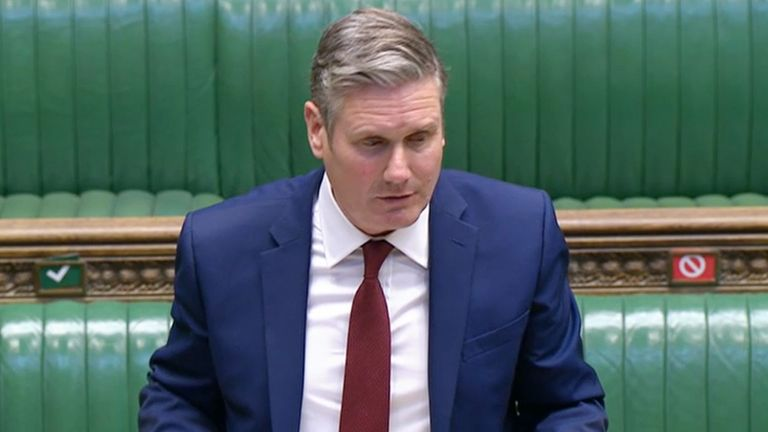 Coronavirus - Tue Sep 22, 2020 Labour leader Sir Keir Starmer responds after Prime Minister Boris Johnson made a statement to MPs in the House of Commons on the latest situation with the coronavirus pandemic.