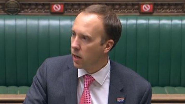 Matt Hancock MP