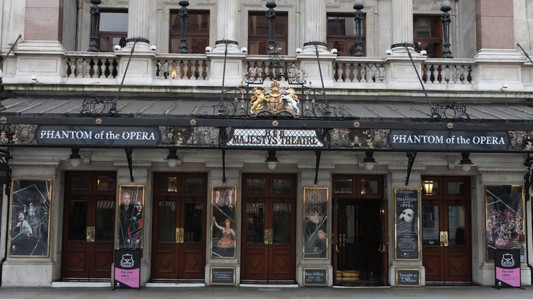 Phantom of the Opera will close permanently on the West End