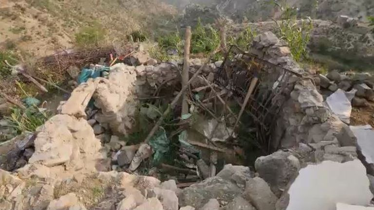 The bombing took place in the remote village of Washah, near the Yemeni-Saudi border