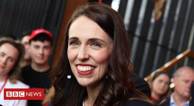 Jacinda Ardern eyes majority as New Zealand votes