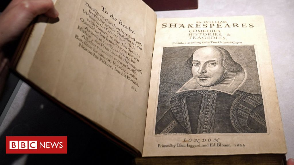 Shakespeare First Folio fetches a record $10m at auction