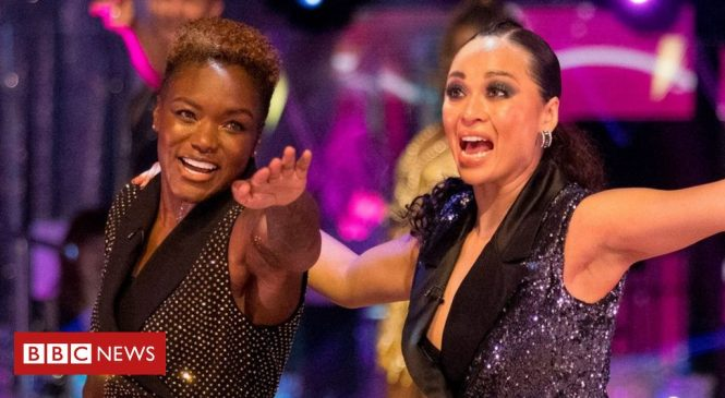 Strictly Come Dancing launch sees Nicola Adams and Katya Jones paired