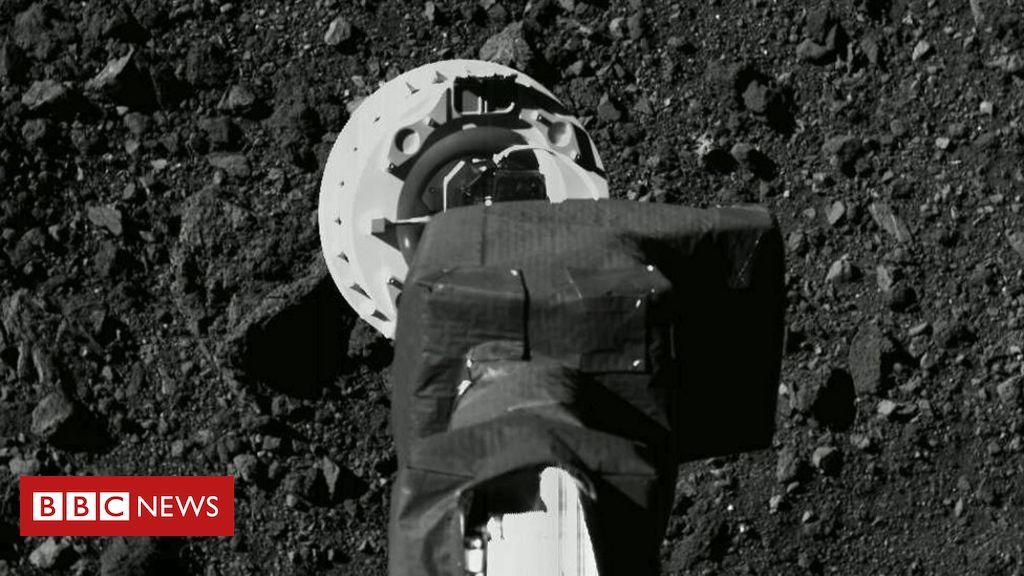 Nasa's Osiris-Rex probe aims for daring 'high five' with asteroid Bennu