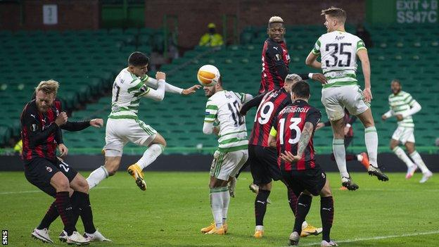 Celtic 1-3 AC Milan – Scots come up short in Europa League opener