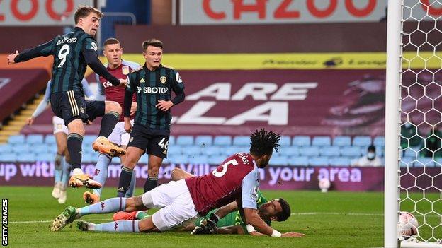 Aston Villa 0-3 Leeds: Patrick Bamford hat-trick ends hosts' 100% start