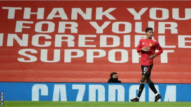 Marcus Rashford: Man Utd striker scores hat-trick after 1m signatures